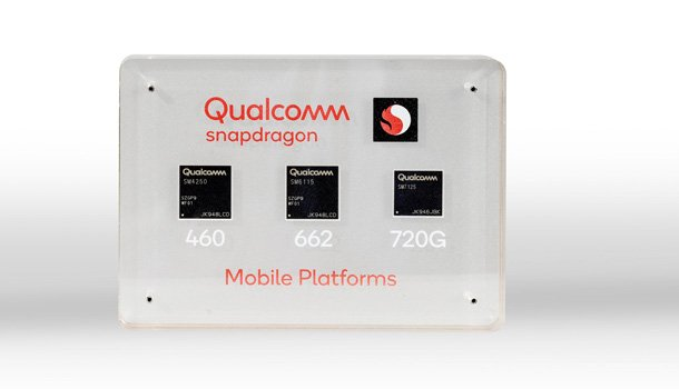 Snapdragon 720g, 662 and 460