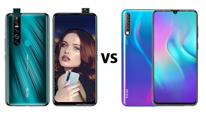 TECNO Camon 15 pro vs Phantom 9