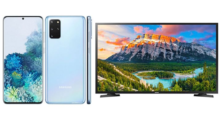 connect samsung galaxy s20 to tv