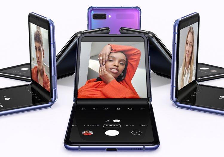 Galaxy Z Flip colours