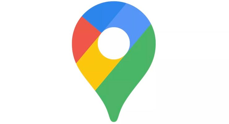 Google Maps new icon
