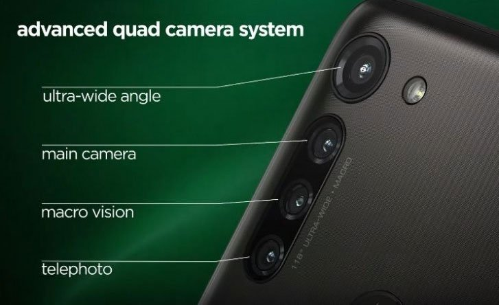 Moto G8 Power camera