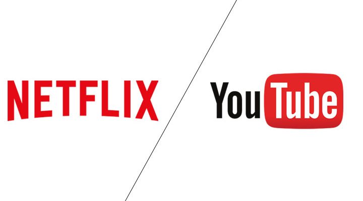 Netflix and YouTube