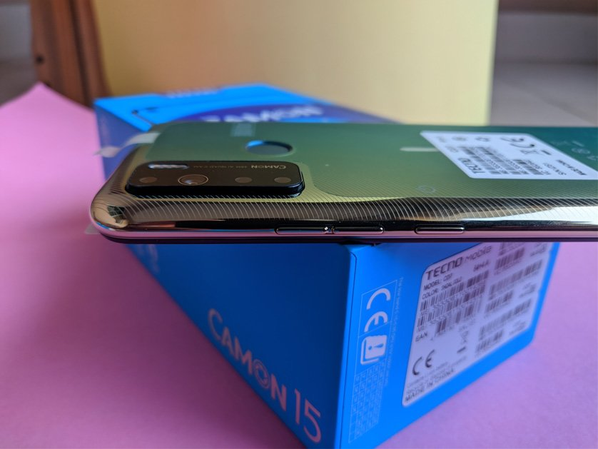 camon 15 unboxing