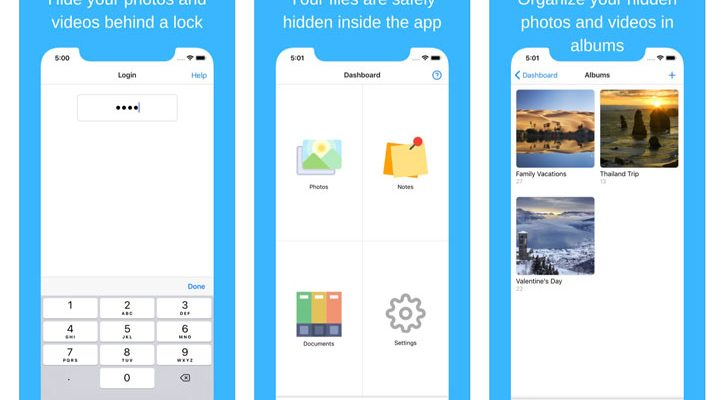photo vault apps for iphone