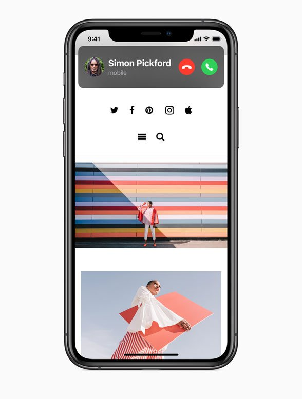 FaceTime call iOS 14