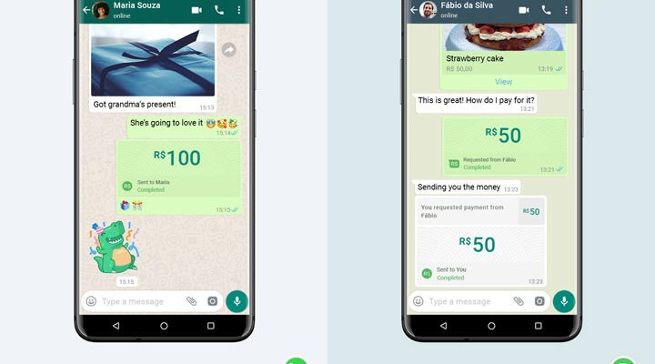 whatsapp digital payments