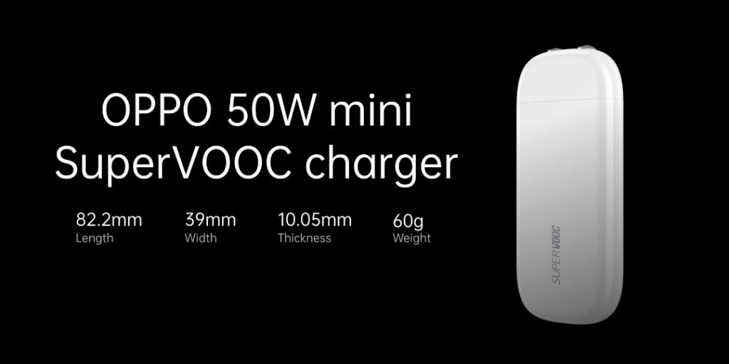 Oppo 50W mini charger