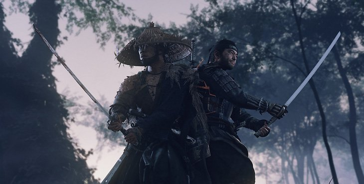 fastest-selling ps4 new ip - Ghost of Tsushima