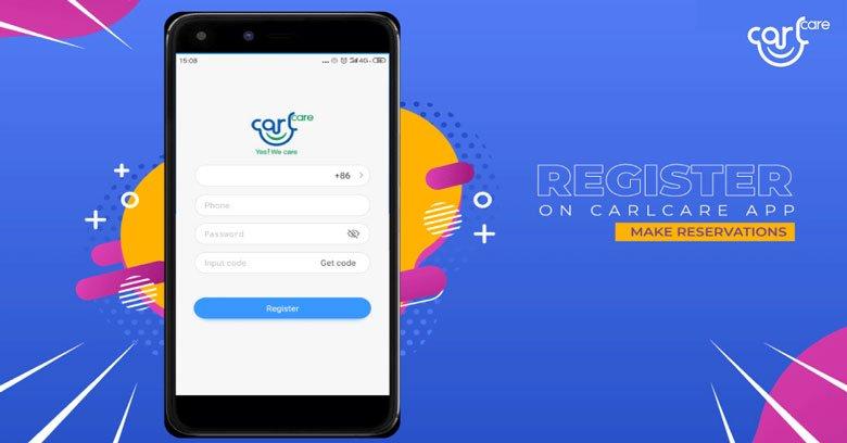 Carlcare mobile app