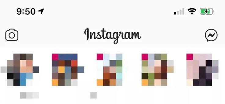 messenger icon on Instagram