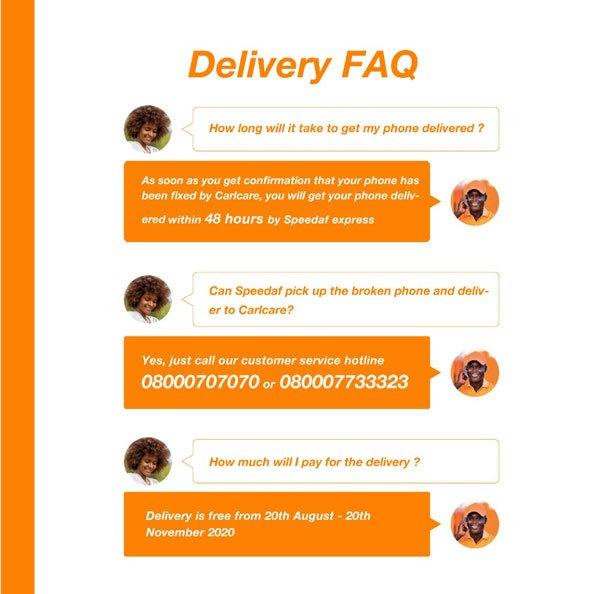 Speedaf Express Delivery FAQ