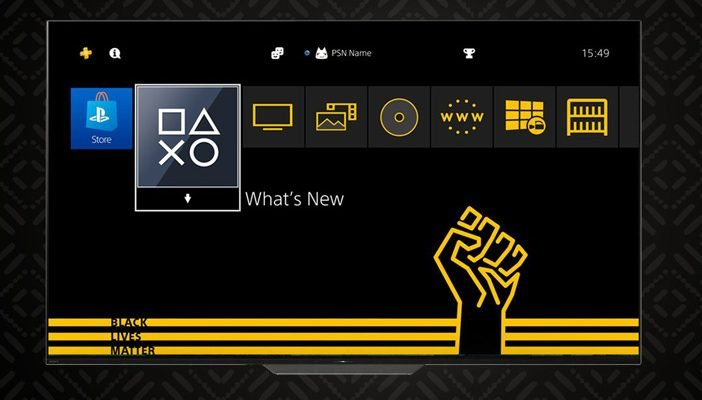 black lives matter ps4 theme
