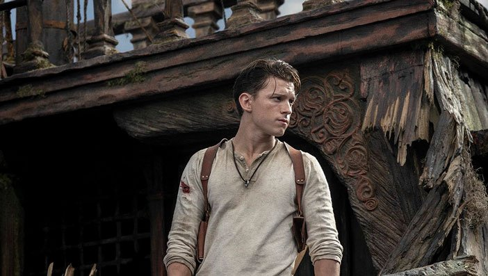 uncharted movie - tom holland