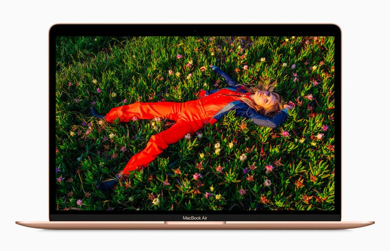 New MacBook Air retina display