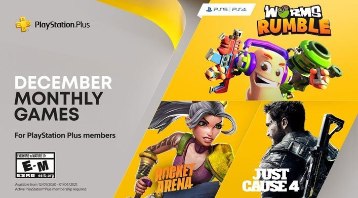 ps plus free games december 2020