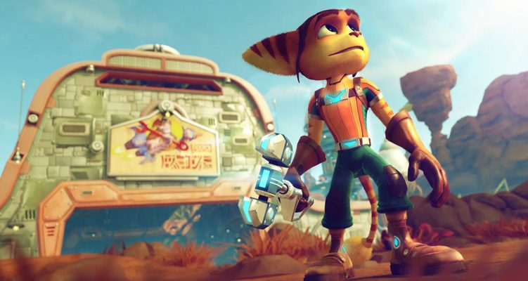 Ratchet & Clank 2016 PS4 - Insomniac Games