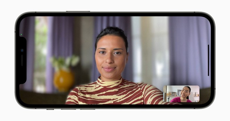 Portrait mode on FaceTime