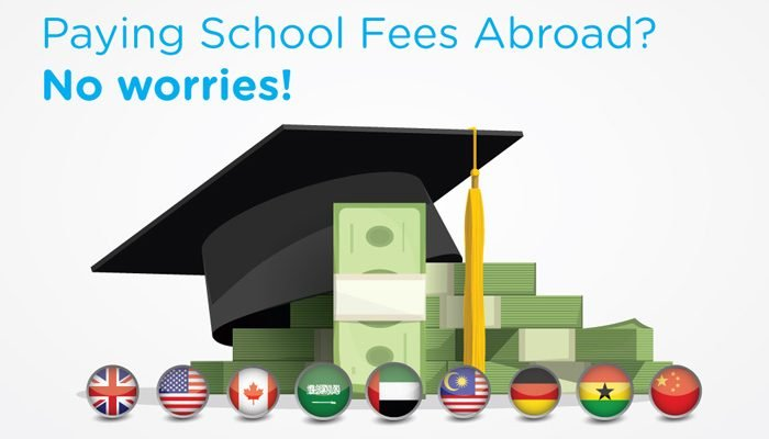 how to pay school fees abroad from nigeria