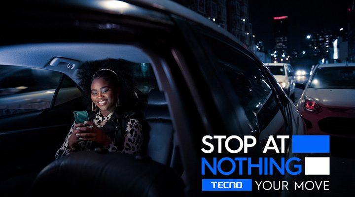 tecno stop at nothing slogan